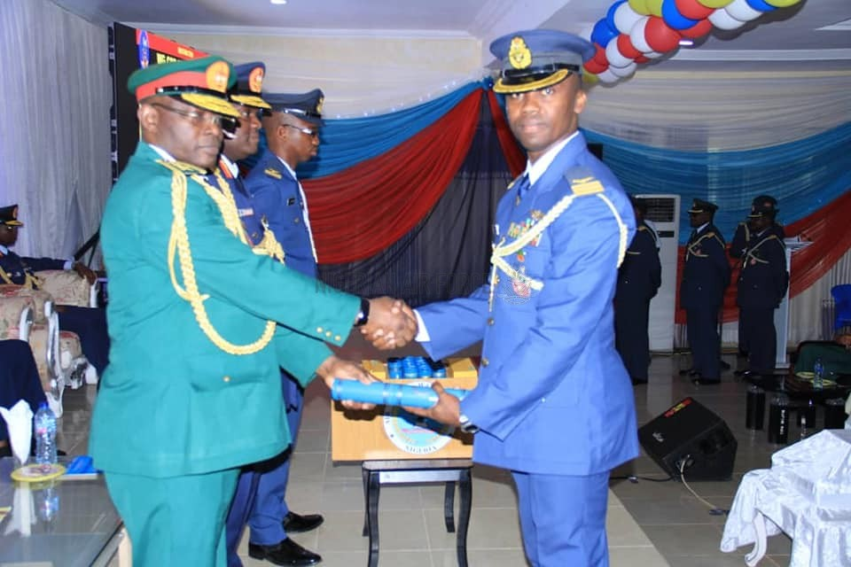 HMOD CHARGES OFFICERS TO BE INNOVATIVE IN TACKLING SECURITY CHALLENGES AS AFWC GRADUATES FIFTH SET OF PARTICIPANTS