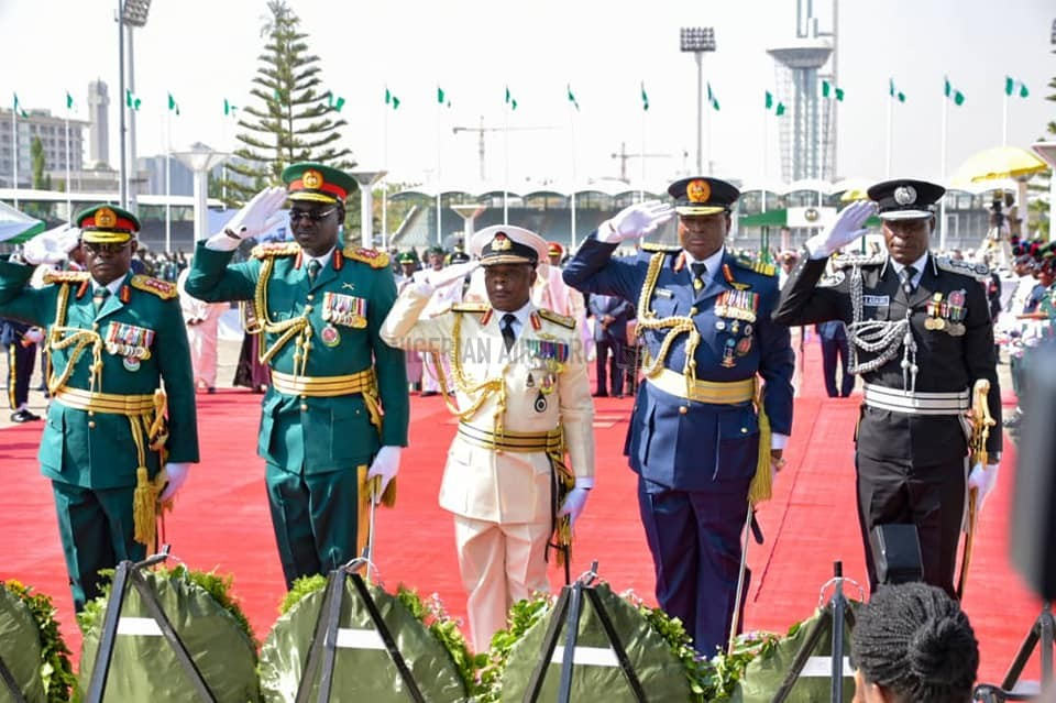 PHOTO NEWS: ACTIVITIES MARKING THE 2020 ARMED FORCES REMEMBRANCE DAY CELEBRATION