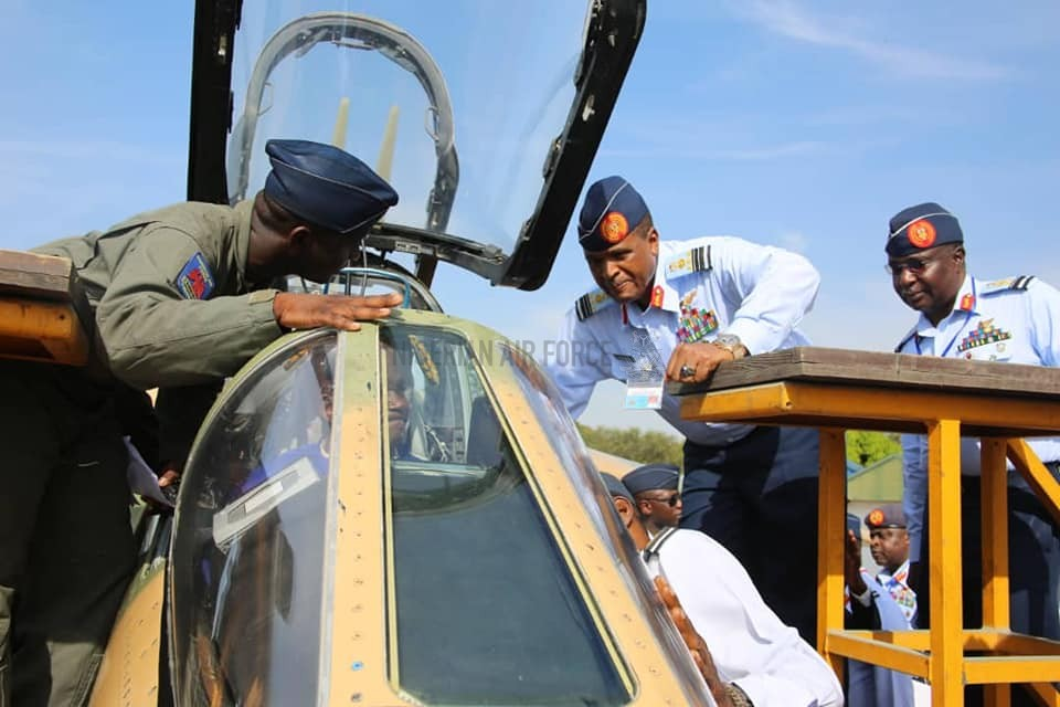 AIR OPERATIONS: CAS INSPECTS ONGOING IN-COUNTRY PERIODIC DEPOT MAINTENANCE OF ALPHA JETS, OTHER PROJECTS IN KAINJI