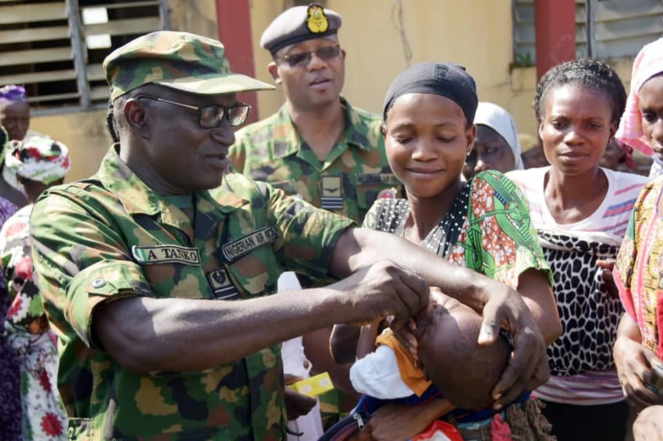 ENHANCING CIVIL-MILITARY RELATIONS: NAF EXTENDS MEDICAL OUTREACH TO IKEJI-ILE COMMUNITY IN OSUN STATE