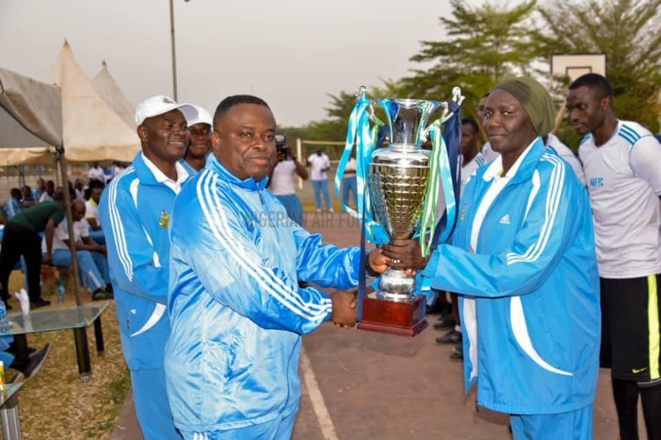 PHOTO NEWS: NAF HOLDS END OF YEAR SPORTS COMPETITION FOR UNITS IN ABUJA