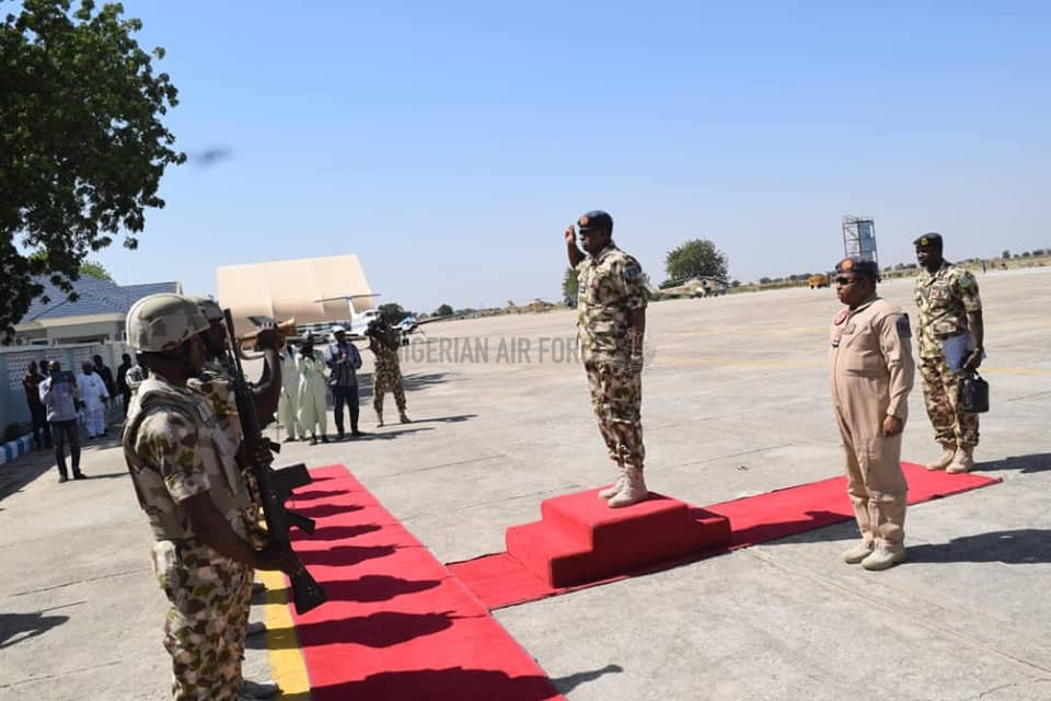 CAS COMMENDS AIR TASK FORCE ON SUCCESSES, CHARGES THEM TO REMAIN RESOLUTE AS HE COMMISSIONS NEWLY COMPLETED PROJECTS IN MAIDUGURI