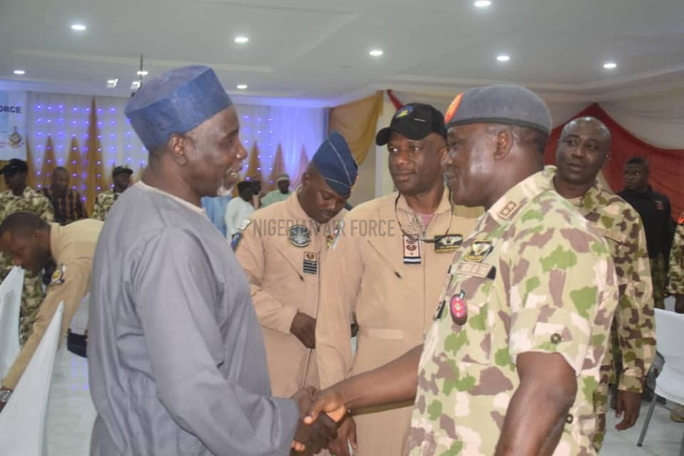 CHRISTMAS CELEBRATION: CAS FETES FRONTLINE TROOPS IN MAIDUGURI, YOLA, KATSINA, CHARGES THEM TO REMAIN FOCUSED